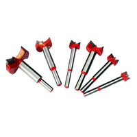 6pcs Drill Bit Set For Carpentry Wood Window Hole Cutter Auger Wooden Drilling Dia 16 20