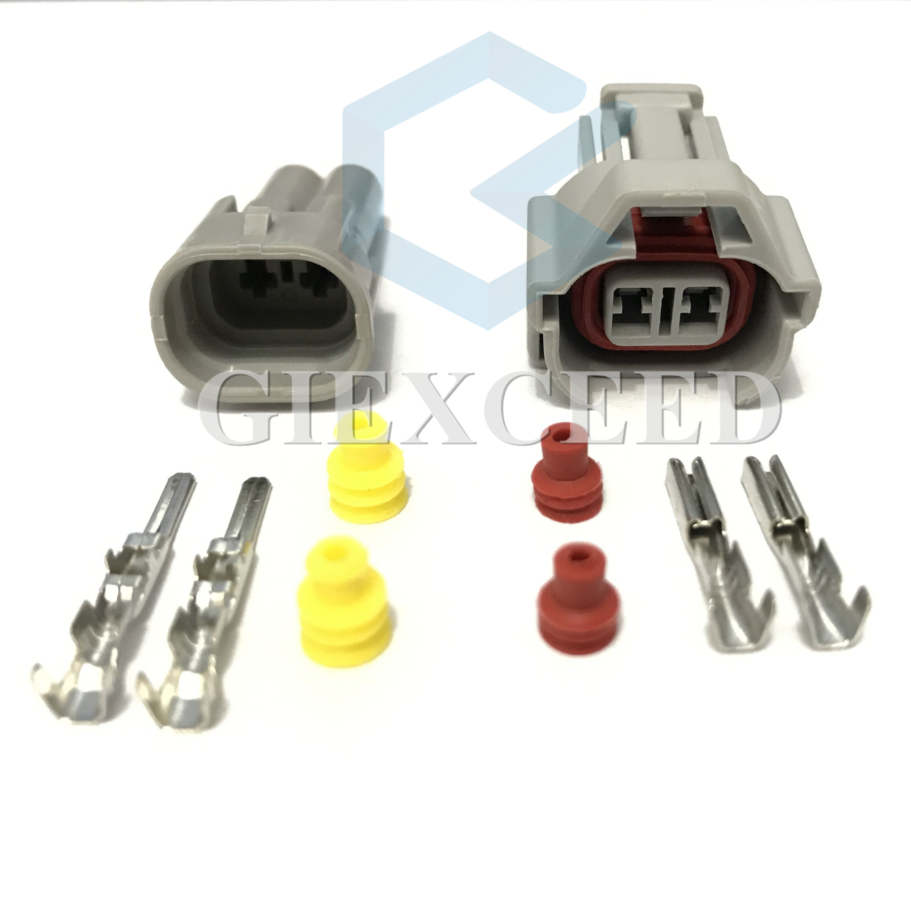 6-Denso Female to EV6 Male Fuel Injector Connector Electrical Plug Clip Adapter