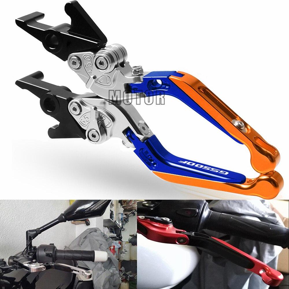Moto CNC en aluminium pour Suzuki GS500F GS 500 F 2004-2008 2009 extensible réglable pliant frein embrayage leviers poignée poignées