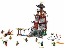 2016 LEPIN 06037 850Pcs Ninjagoed The Lighthouse Siege Model Building Kits Minifigure Blocks Brick Toys brinquedos legeod