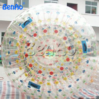 WB013 BENAO Inflatable Human Hamster Ball For Sale, Inflatable Water Walking Ball For Kids