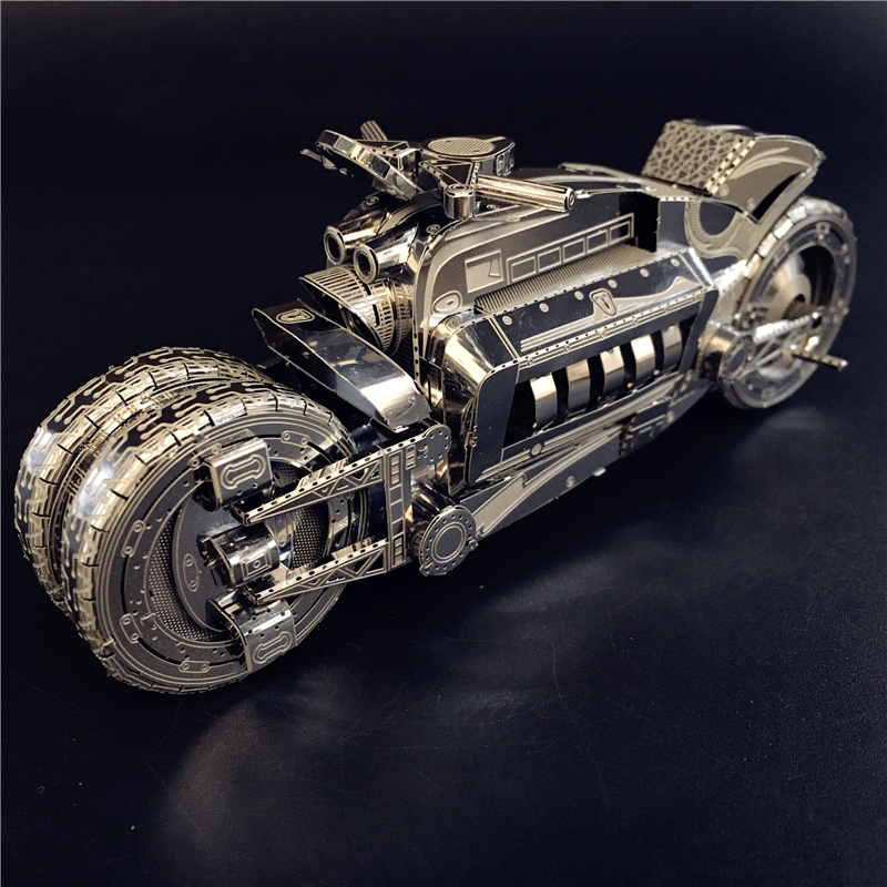 MMZ MODEL NANYUAN 3D Metal Model Kit  Dodge Tomahawk  CONCEPTMOTORCYCL EAssembly Model DIY 3D Laser Cut Model Puzzle Toys Gift
