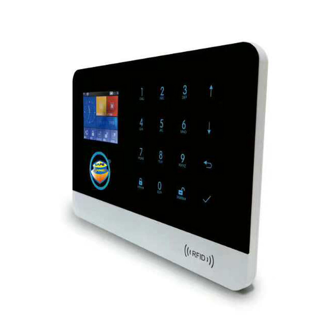 (1set) Safe Aredam Wireless wifi alarm system IOS andorid APP Wifi GSM  RFID Security wifi alarm system with original box