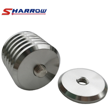 Sharrow 1 Piece Additional Weight Stainless Steel 4 Archery End Weights With Thread Bow Accesssory