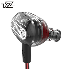 KZ ZSE Dual Dynamic Drivers Earphone In Ear Earphone Audio Monitors Earphone Noise Isolating HiFi Music Sports Earbuds