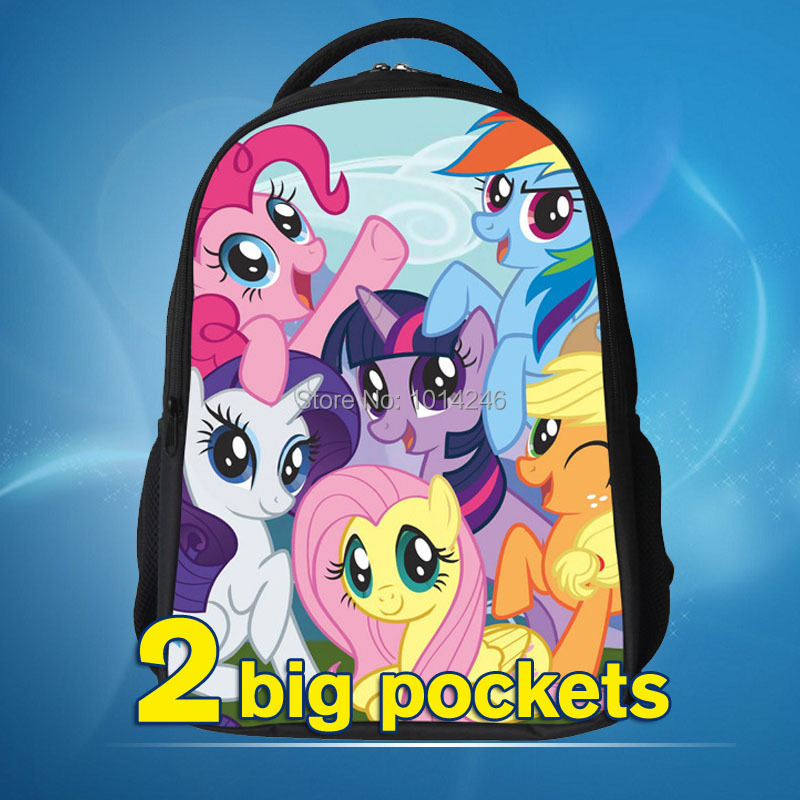 2017 princess backpack with my little pony cartoon design school bag for kid my little pony bag gift for kid my little pony back полуботинки quelle my little pony 1006157