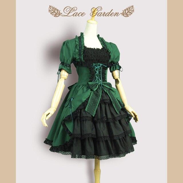 Korte vintage jurk