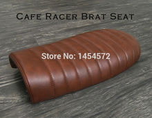 Local color brown boy change free transport factory store Coffee car saddle 250 motorcycle CG GN model Sr400