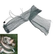 JETTING 1pc foldable fishing nets fish pot trap filet de peche rete pesca fish drying nylon-fishing-net creels