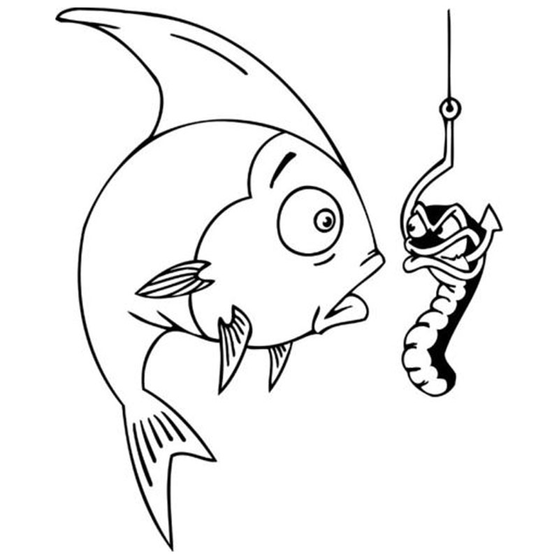 12.7*15.5CM Fishing Club Fish Funny Car Decal Vinyl Stickers Creative Cartoon Car Sticker C4-0753 игрушка bradex funny fish de 0077 orange
