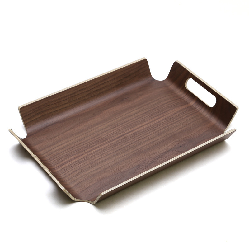Tablett Holz tablett holz obst platte rechteckigen kaffeetablett
