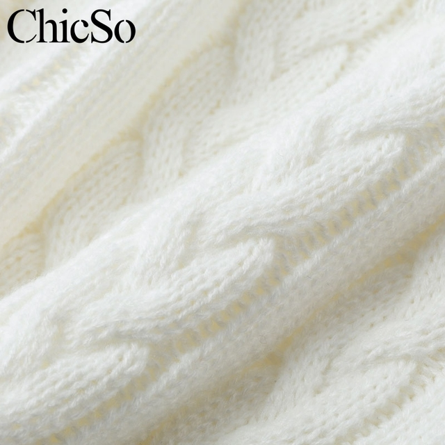 MissyChilli Strapless tassel fringe white sweater Women long sleeve knitted sweater Autumn spring party sexy club sweater jumper