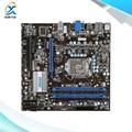 Para msi h55m-p31 tomada original usado motherboard desktop para intel h55 LGA 1156 Para i3 i5 i7 DDR3 16G SATA2 USB2.0 Micro-ATX