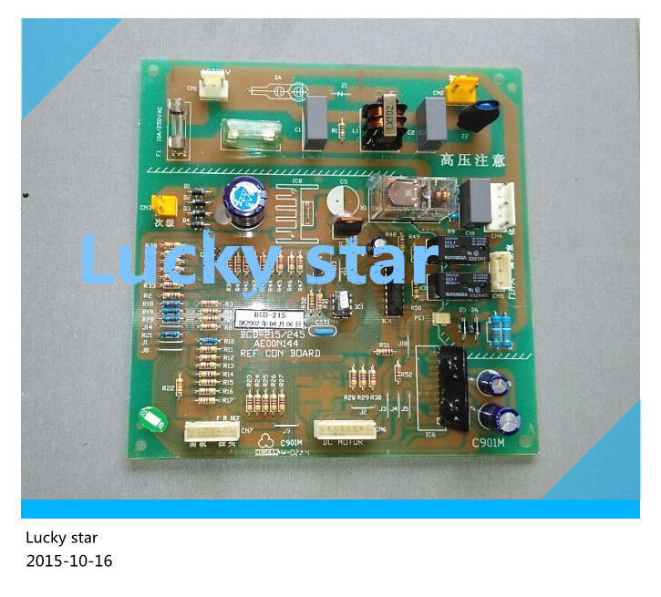 95% new for refrigerator computer board circuit board BCD-215/245 AE00N144 board good working 95% new for lg refrigerator computer board circuit board bcd 205ma lgb 230m 02 ap v1 4 050118driver board good working
