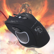 A888 Ergonomic Design 6 Buttons 5500 DPI Professional Gaming Mouse with colorful light for Desktop Laptop