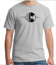Vinyl Record EQ frequency unisex t-shirt