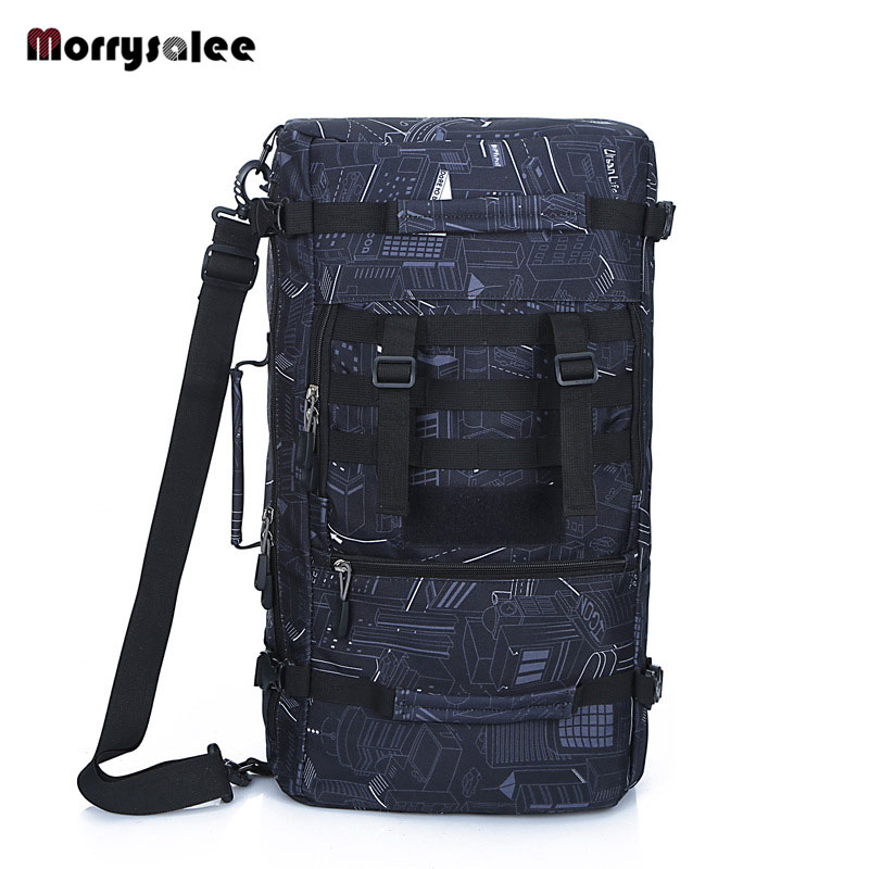 Factory direct multi function backpack men's mountaineering bag large capacity travel package travel essential Backpack 65l professional outdoor mountaineering bag camouflage bag large capacity multi function camping hiking backpack outdoor travel