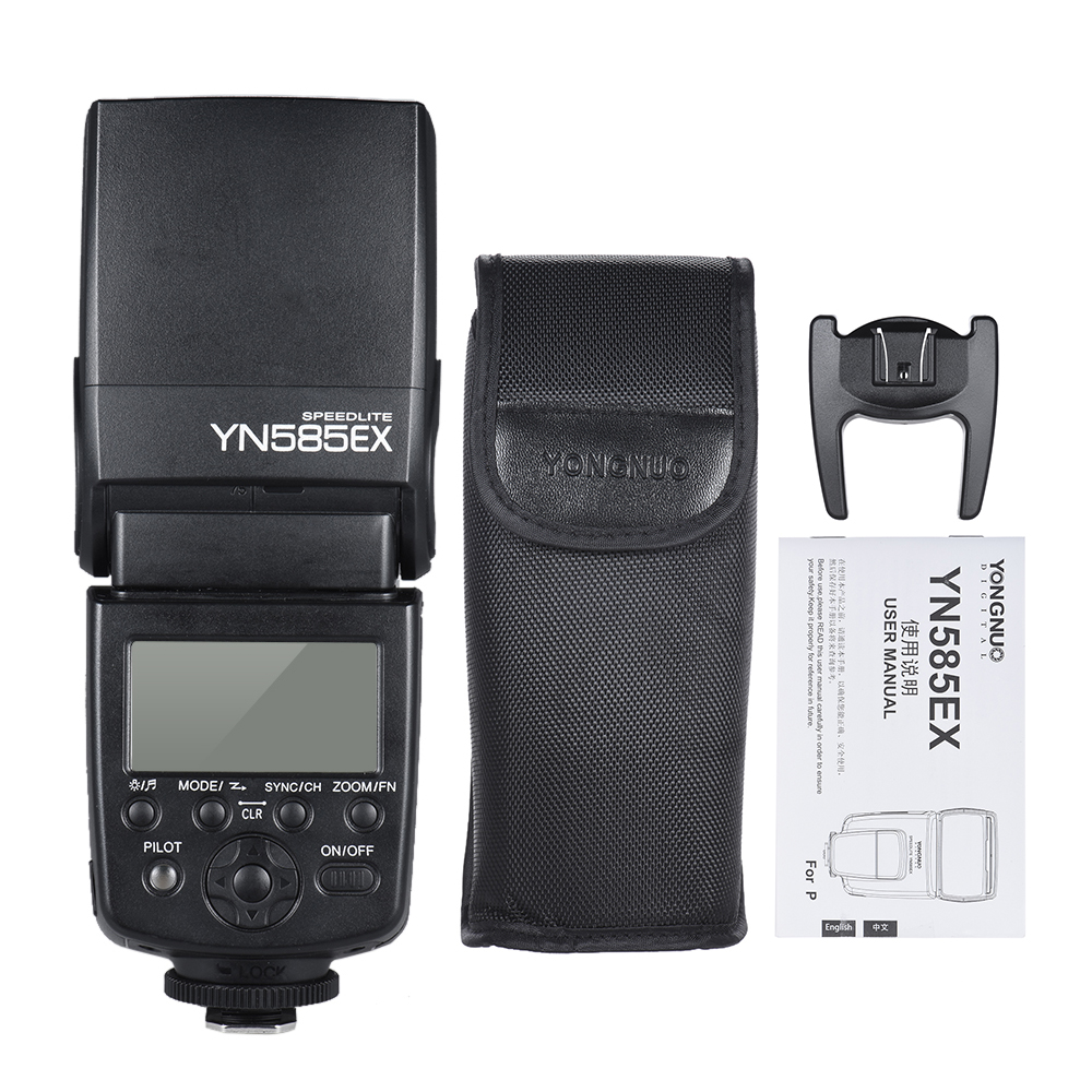 YONGNUO YN585EX P TTL Wireless Flash Speedlite Flash Light for Pentax K 1 K S1 K