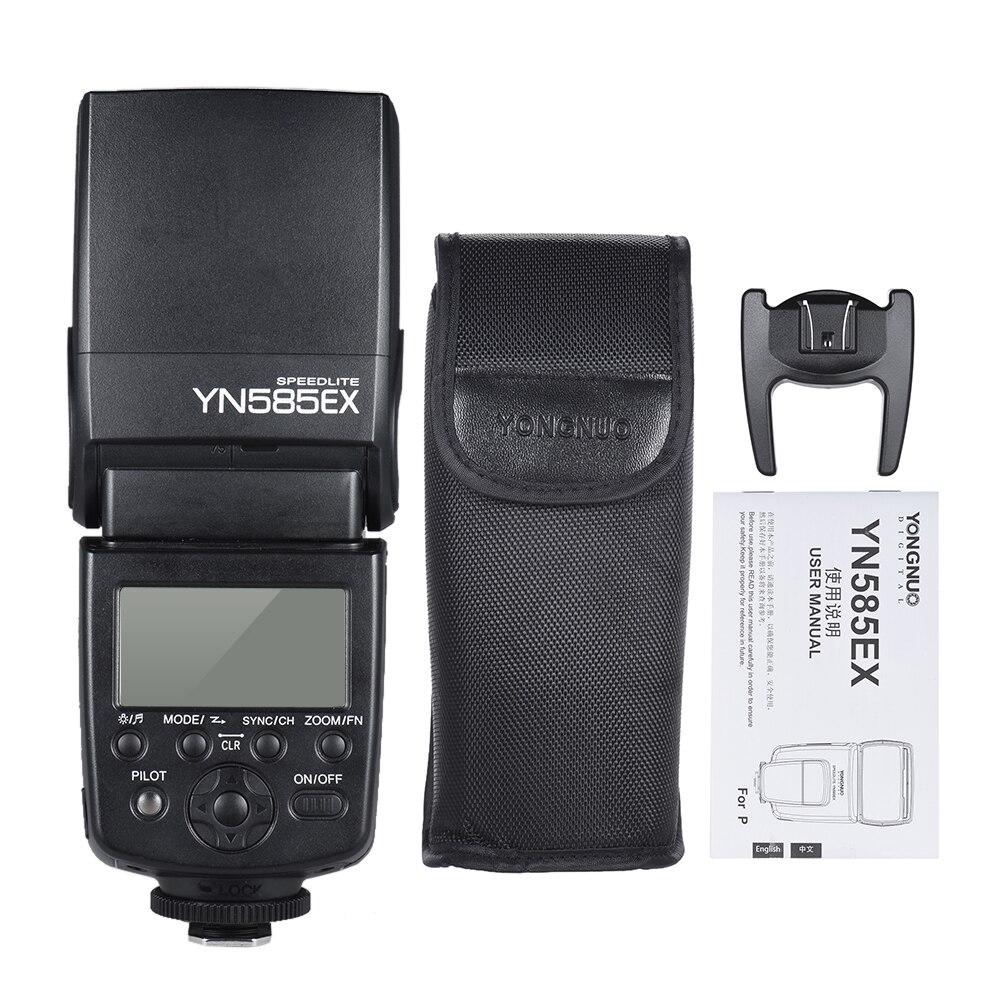 永諾 YN585EX P TTL ワイヤレスフラッシュスピードライトフラッシュライトペンタックス K 1 K S1 K S2 K 3 K 3II K 70 K 50 カメラのフラッシュスピードライト  グループ上の 家電製品 からの 点滅 の中 1