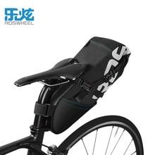 ROSWHEEL 2017 8L 10L mtb bike saddle bag bicycle bag cycling rear seat bag tail bags