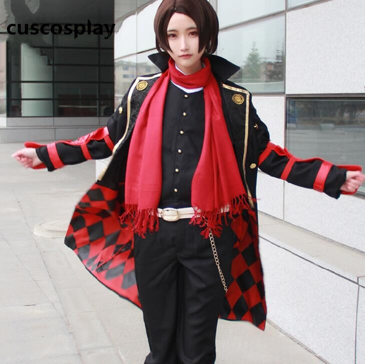 Unisex Full Set Japanese Game TouKenRanBu Cosplay Dress kashuu kiyomitsu Halloween Party Anime Cosplay Costume