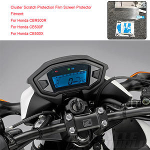 MTCLUB For Honda CBR500R CB500F CB500X Motorcycle Speedometer Cluster Scratch Protection