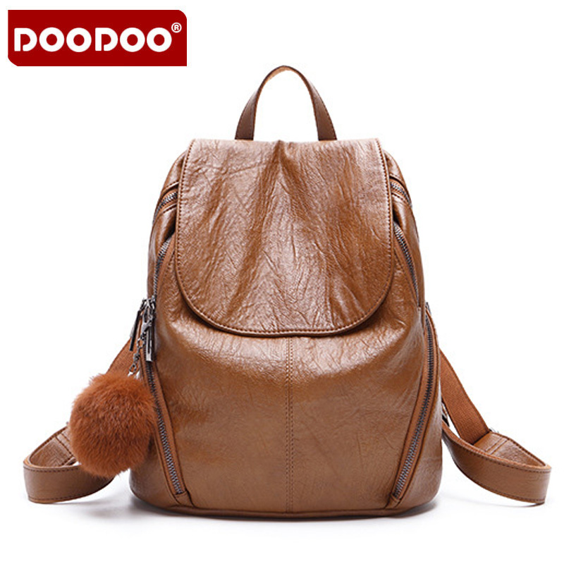 DOODOO 2018 New Arrival Fashion Women Backpack New Spring And Summer Students Backpack Women Korean Style Backpack High Quality