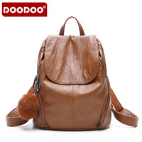 DOODOO 2018 New Arrival Fashion Women Backpack New Spring And Summer Students Backpack Women Korean Style