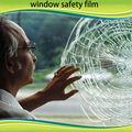wholesale 2mil 1.52*30m clear safety & security window film, resist accidental anti grafftic