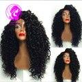 Девы Бирманский 9А класс 150% Плотность реми волосы бодрый вьющиеся 100% девственных волос полный шнурок человеческих волос парики