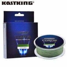 KastKing Fortis  550M 4 Strands Braided Fishing Line Anti-Freezing Coating PE Multifilament Ice Fishing Line for Winter
