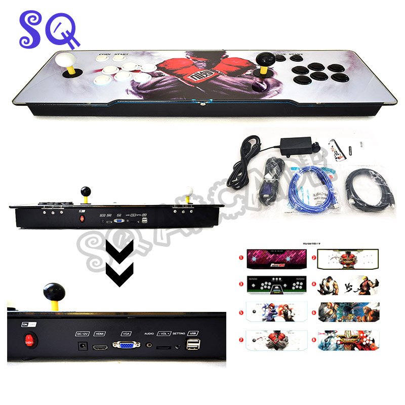 Box 6S+ 1388 in 1 Arcade Game Console for TV PC PS3 Monitor Support HDMI VGA USB with Pause Pandora Video Arcade MachineBox 6S+ 1388 in 1 Arcade Game Console for TV PC PS3 Monitor Support HDMI VGA USB with Pause Pandora Video Arcade Machine
