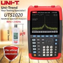 UNI-T UTS1020 Handheld Spectrum Analyzer, frequency range 9kHz ~ 2.6GHz