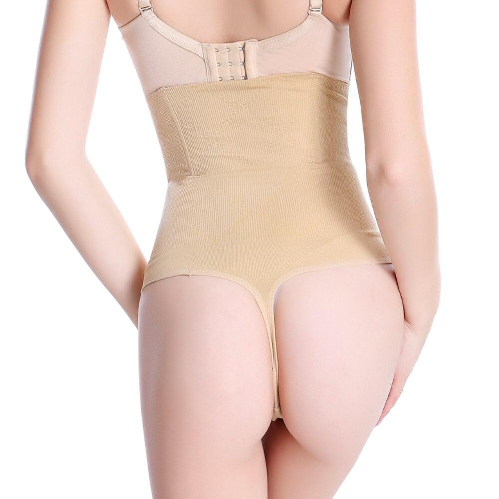 9a4559a8ff Dropwow Women High Waist Butt Lifter Body Shaper Sexy Thong ...