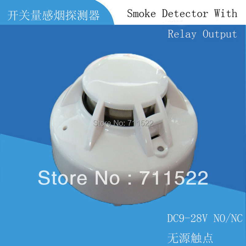 4-wire  Conventional  Smoke Detector with Relay output 12v/24v smoke alarm  like R6601 Conventional Smoke Detector 2 5 sata to ide hdd caddy for dell d500 d600 inspiron 300m 500m more