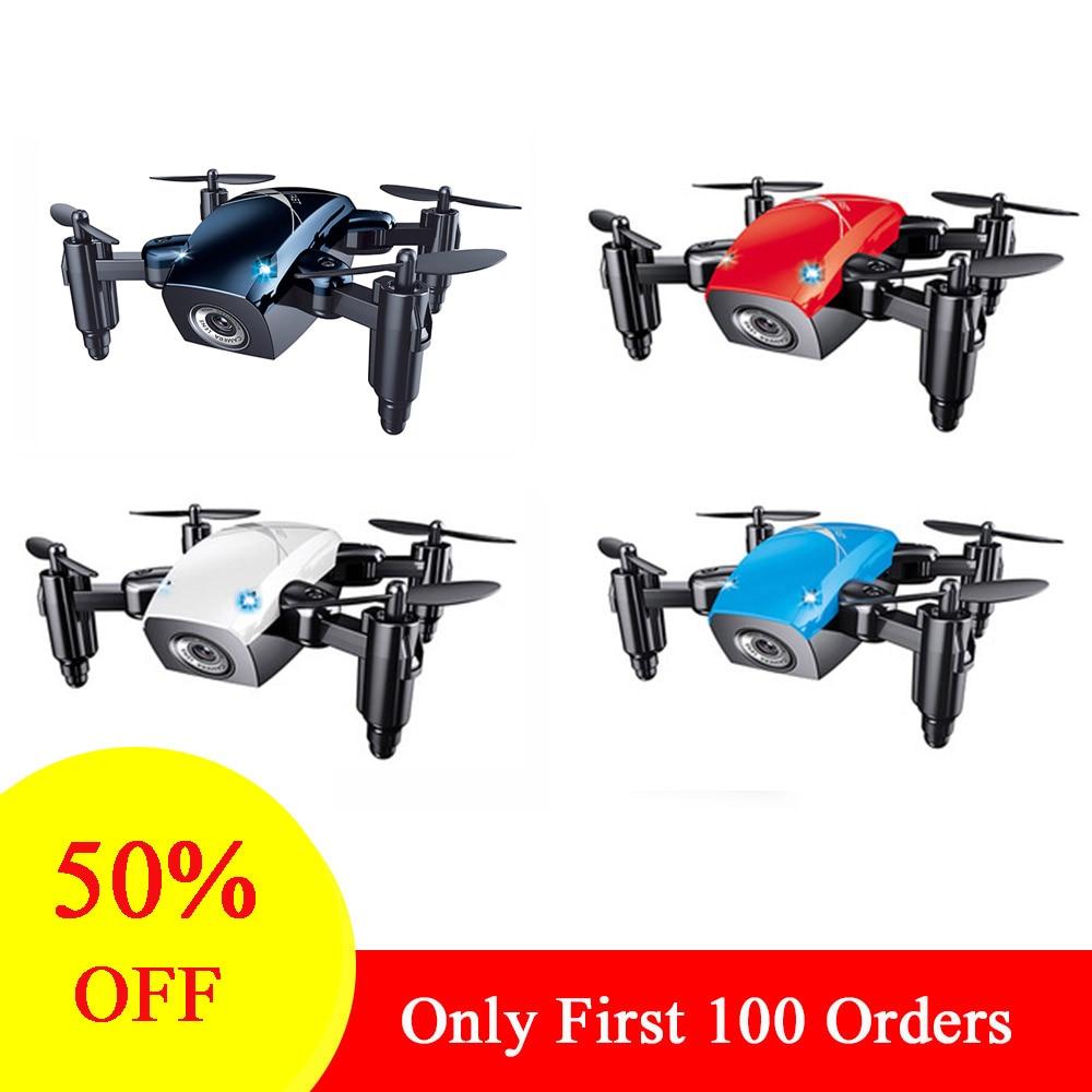 Foldable Mini Drone With HD Camera High Hold Mode RC Quadcopter RTF WiFi FPV    VS E61/E61hw
