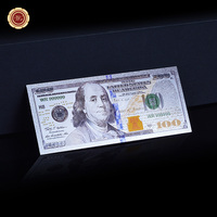 Collectible Gift 2011Year $100 US Sliver Banknotes Dollar Currency World Banknote