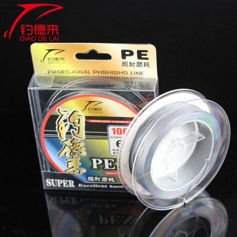 100M PE Braided Fishing Line Japan Multifilament Super Strong Main Line for Lake Ocean Rock Carp Fishing Cord Accessories ...