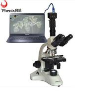 Wholesale China factory supplier biological digital microscope contact with camera for sale