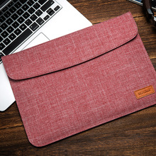 New BESTCHOI Bag for Xiaomi Air 12.5 Laptop 13.3 Sleeve Bag Canvas Women Men Fashion Laptop Cover for Xiaomi 12inch 13inch Bag