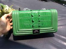 100% Real/Genuine Crocodile Skin Women Tote Handbag Crocodile Leather Tote Bag Shoulder Messenger Handbag