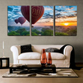 diy oil painting by number wall canvas sunsets paintings on the living room wall Home decoration balloon 40X50X3 sets R3015
