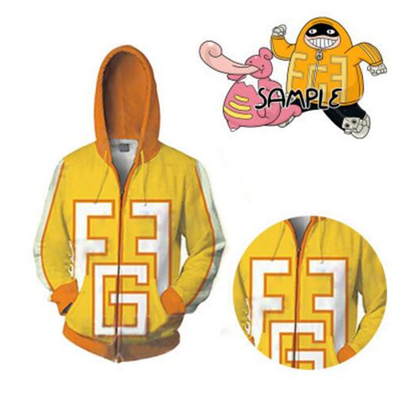 My Hero Academia 3D Print Sweatshirt Boku no Hero Academia Cosplay Hoodie Men New Coat Jacket