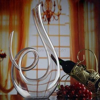 Ручной кристалл красное вино pourer Стекло графин бренди декантируйте набор кувшин для бара шампанское бутылка питьевой воды Очки подарок