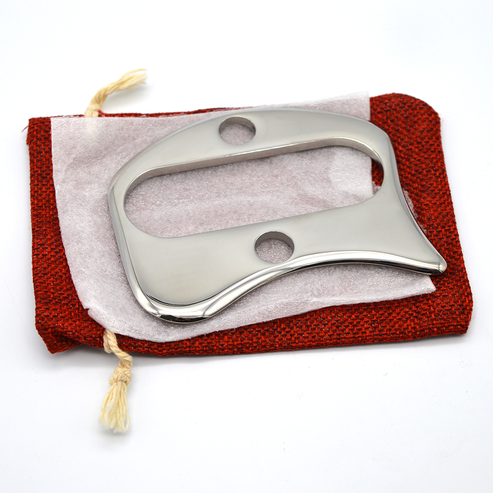 Stainless Steel Gua Sha Board Body Massage Tool Guasha Board For Acupuncture Scraping Massage Tool купить в Москве 2019