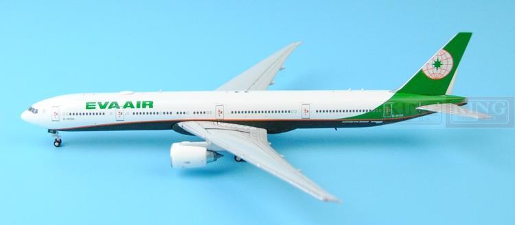 Wings XX4662 Taiwan: JC seckill EVA B777-300ER B-16725 1:400 commercial jetliners plane model hobby
