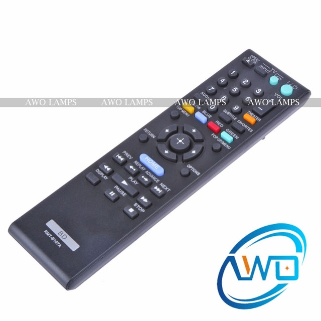 awo free shipping rmt b107a remote control for sony bd bdp s370 bdp rh aliexpress com sony bdp s370 blu-ray player manual sony blu ray s370 manual