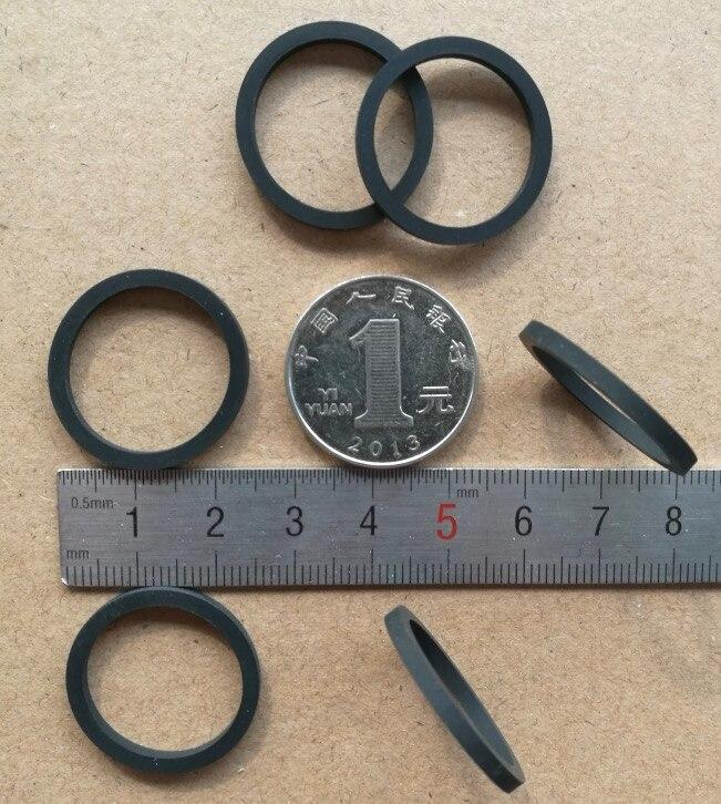Gekwalificeerd 6 Stks/partij 25x20.5x2mm Schort Rubber Mouwen Ring Schokdemper Rubber Wiel Leer Bevorder De Productie Van Lichaamsvloeistof En Speeksel