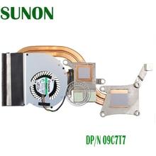 Free Shipping Brand New New Heatsink and Fan for Dell Latitude E6430 09C7T7 9C7T7 CN-09C7T7 AT0LE002ZAL Notebook Laptop