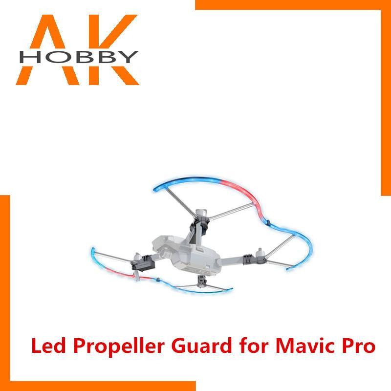 Garde d'hélice PGYTECH PGY lumière LED pour DJI Mavic pro Drone Mavic pro accessoires